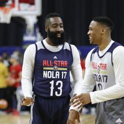 James Harden on playing with Russell Westbrook