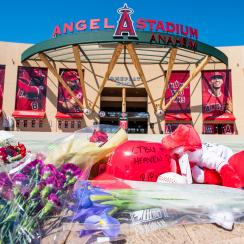 Fans Mourn For Los Angeles Angel Piticher Tyler Skaggs