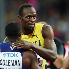 usain bolt 2019 track and field world championships christian coleman