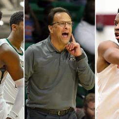 Georgia basketball Anthony Edwards Tom Crean Christian Brown 2019-20
