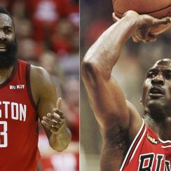 james harden michael jordan scoring daryl morey