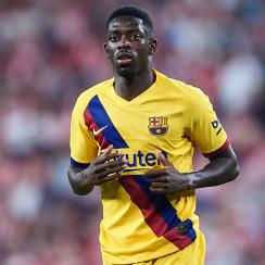 Ousmane Dembele will miss five weeks for Barcelona