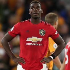 Paul Pogba and Man United draw Wolves