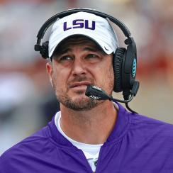 Tom Herman LSU Texas Ed Oregeron college football