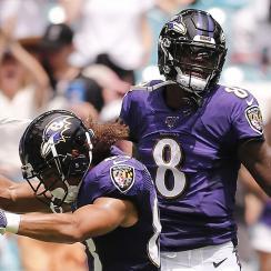 Lamar Jackson ravens offense