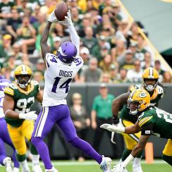 Stefon Diggs has TD reversed Vikings Packers
