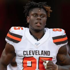 David Njoku out more than a month with broken wrist