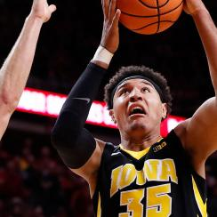 Iowa basketball Cordell Pemsl arrested