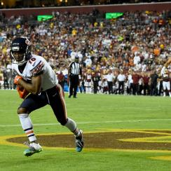 nfl, wire, chicago bears, Monday Night Football, taylor gabriel, Washington Redskins