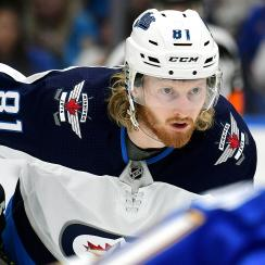 NHL: APR 20 Stanley Cup Playoffs First Round - Jets at Blues