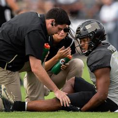 Purdue football Rondale Moore injury