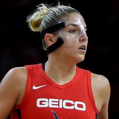 Elena Della Donne leaves game with back spasms