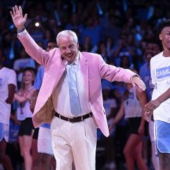 UNC Roy Williams Late Night 2019
