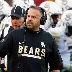 Baylor football Matt Rhule 2019 Bears
