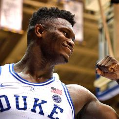 Duke Zion Williamson college basketball
