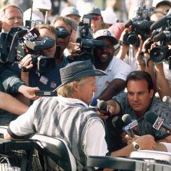 Greg Norman's 63 during the first round of the 1996 Masters caused quite the stir, which would have been even better if not for a three putt on 18.
