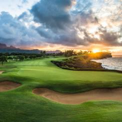 Poipu Bay Golf Course is a must-play on the island of Kauai in Hawaii.
