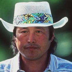 Jumbo Ozaki at the 1995 PGA Championship.