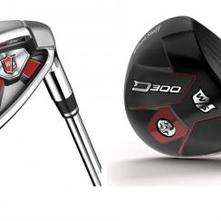 Wilson Staff D300 iron and driver