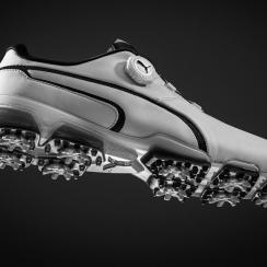 Puma TitanTour gnite Disc golf shoes.