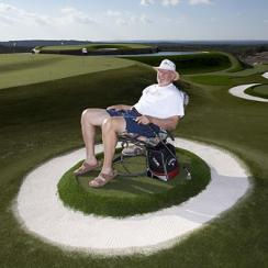 "Pelz's Austin-area home features a dynamic short-game practice facility. <strong><a href=""http://www.golf.com/photos/dave-pelzs-golfers-paradise/dave-pelz"">More Photos</a></strong>"