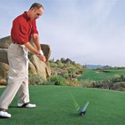 Narrow your focus to block out trouble and get off the tee with ease.