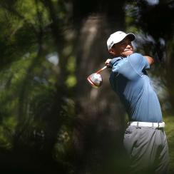 Tiger Woods finished T4 at the 2013 Masters, his last time at the event.