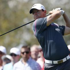 Rory McIlroy watches his tee shot during the third round of the Arnold Palmer Invitational.