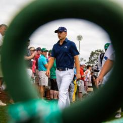 Jordan Spieth during the final round.