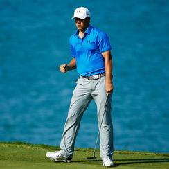 Jordan Spieth's second-place finish vaulted him ahead of Rory McIlroy in the World Rankings.