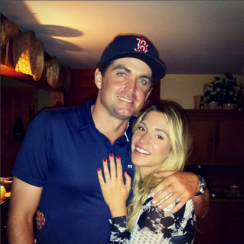 Jillian Stacey posted the happy news of her and boyfriend Keegan's engagement this past weekend.
