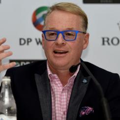 European Tour Chief Executive Keith Pelley addressed the media prior to the start of the DP World Tour Championship in Dubai.