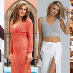 Holly Sonders (from left), Lexi Thompson, Kelly Rohrbach and Blair O'Neal are all featured in GOLF's Most Beautiful Women.