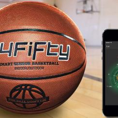 The 94Fifty Smart Sensor Basketball can give you instant feedback on every shot and dribble.