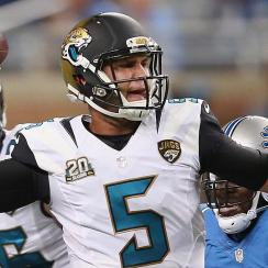 Blake Bortles was considered an unfinished product when he was drafted by Jacksonville, but has shined for the Jaguars in the preseason.