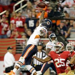 Brandon Marshall, Bears come back to beat 49ers