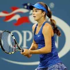 Catherine 'CiCi' Bellis performed beyond her age (15), but fell short under the bright lights at the U.S. Open.