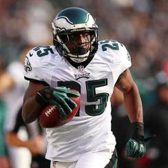 LeSean McCoy didn't get on track in Phildelphia's Week 1 win over the Jaguars, finishing with just 74 yards on 21 carries.