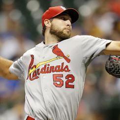 Michael Wacha showed some rust against the Brewers Thursday night, but found his rhythm late as the Cardinals prevailed.