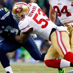 Top NFL inside linebackers; NaVorro Bowman, Derrick Johnson