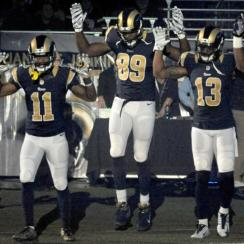 "Ferguson protests: Rams CEO Kevin Demoff denies apologizing to St. Louis police for players' ""hands up don't shoot"" gesture"