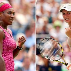 Serena Williams and Carolina Wozniacki have helped each other through early-season slumps, but now face off for a Grand Slam title.