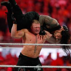 Brock Lesnar and Roman Reigns