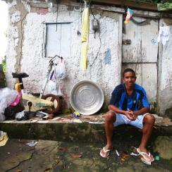 Meet Lucas Rodrigues, a professional soccer player from a local favela known as Santa Marta, who is looking to make his mark in a sport that could potentially change the course of his life.