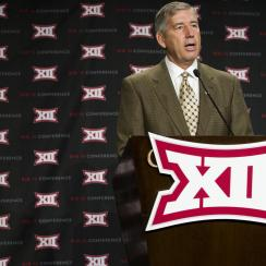 Big 12 commissioner Bob Bowlsby says cheating pays in NCAA