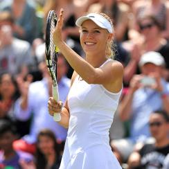 Caroline Wozniacki last reached the fourth round at Wimbledon in 2011, where she lost to Dominika Cibulkova.