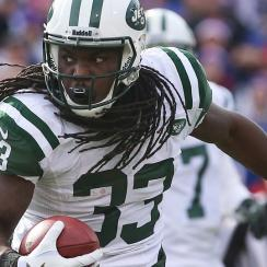 Chris Ivory ran for 833 yards on 182 attempts, averaging 4.6 yards per attempt and adding three touchdowns in his first season with the Jets.