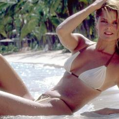 Christie Brinkley in the B.V.I.