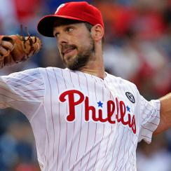 Cliff Lee was knocked around for six earned runs on 12 hits in 5 2/3 innings against the Giants in his return from the disabled list on Monday night.