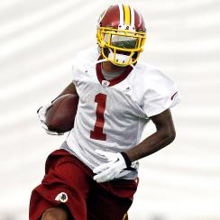 The Redskins added DeSean Jackson in the offseason to work with QB Robert Griffin III and new head coach Jay Gruden.